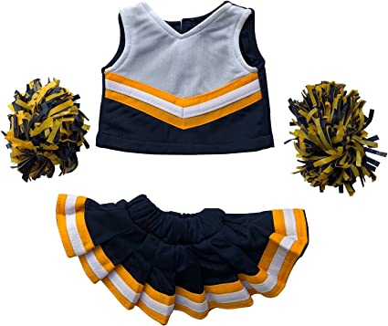 """Clothes 16/"""" Teddy Bears Cheerleader Outfit Fits Build A Bear Workshop 12/"""""""