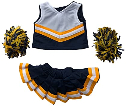 963e55183 Cheerleader Outfit Teddy Bear Clothes Fit 15 inch Build-A-Bear, Vermont  Teddy
