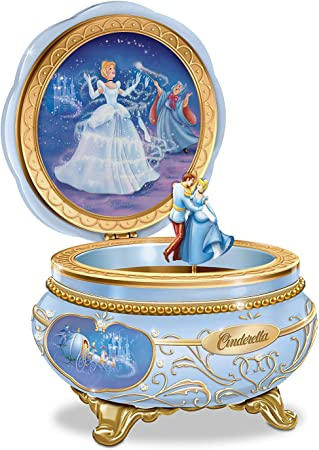 Disney Princess Cinderella Heirloom Caja de música de porcelana ...