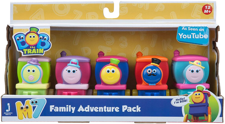 Bob The Train Family Adventure Pack
