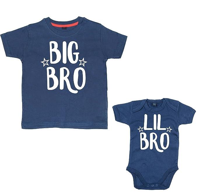 d7447728d Amazon.com  Edward Sinclair Baby Boys  Matching Big Bro Tshirt   Lil ...