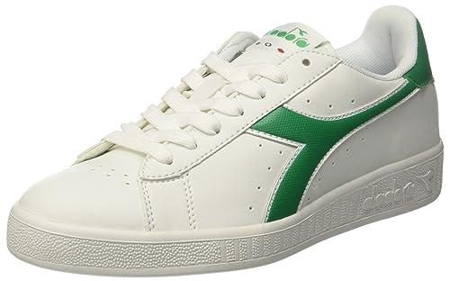 P Unisex Sneaker biancocrema A Collo Game Adulto Diadora Basso pPUn4x5Zw
