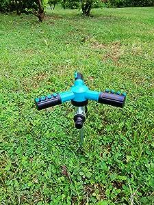 BRAFIVI Aspersor de Agua de jardín - Rociador Giratorio de 360 Grados: Amazon.es: Jardín