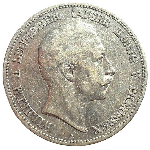 Silber Münze 5 Mark 1900 A Preußen Wilhelm Ii Prachtexemplar