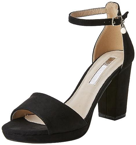 XTI 30686 Scarpe con Cinturino alla Caviglia Donna Nero Black 38 EU