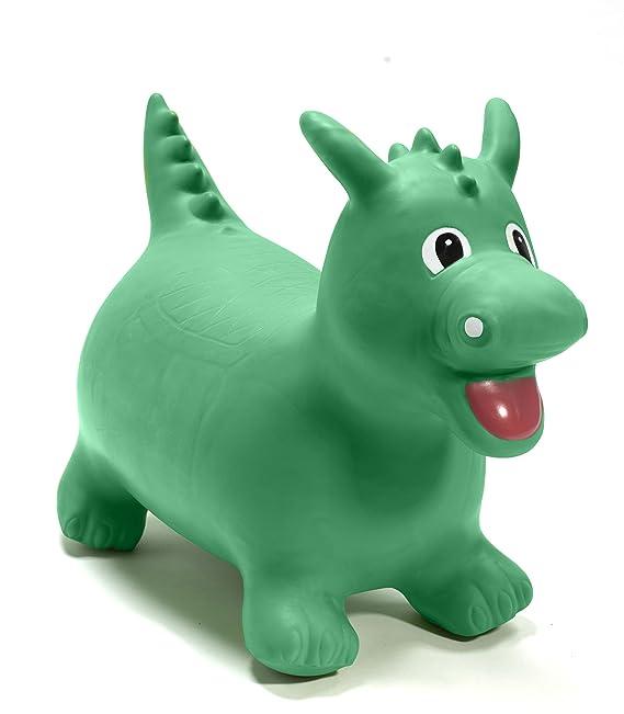 Happy Hopperz - Dinosaurio, Color Verde (HHZ11): Amazon.es ...