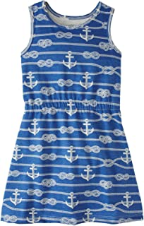 product image for Winter Water Factory Ropes & Anchors Morocco Dress (Toddler/Kid) Blue