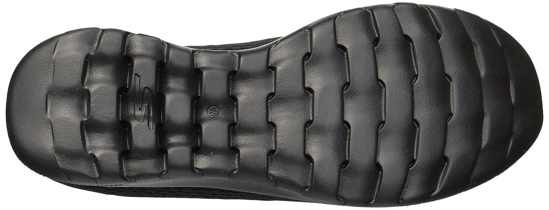 Skechers Women's Go Walk Lite-Shanti Loafer Flat B078GMWFV6 9.5 W US|Black