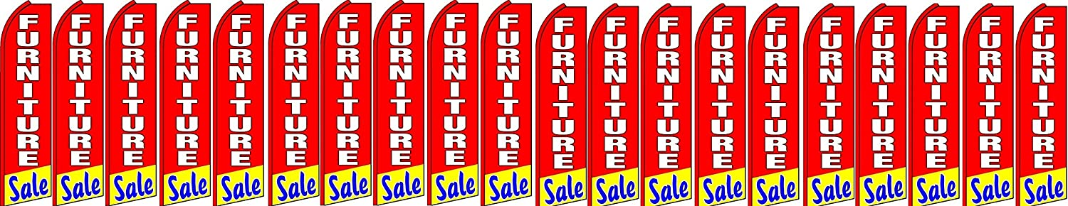 furniture sale King Swooper Feather Flag Sign Pack of 20 hardware not included