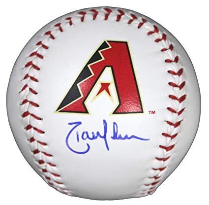 Balls Jonathan Johnson Autographed Official Rawlings Baseball Baseball-mlb