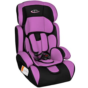 TecTake Group 1/2/3 Combination Car Seat (Purple / Black): Amazon.co