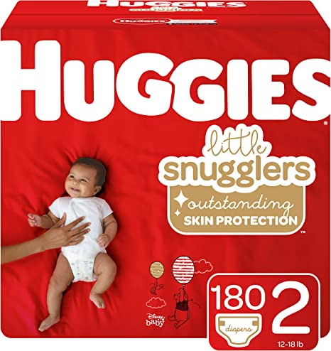 Huggies Little Snugglers Baby Diapers Size 5 Old Version