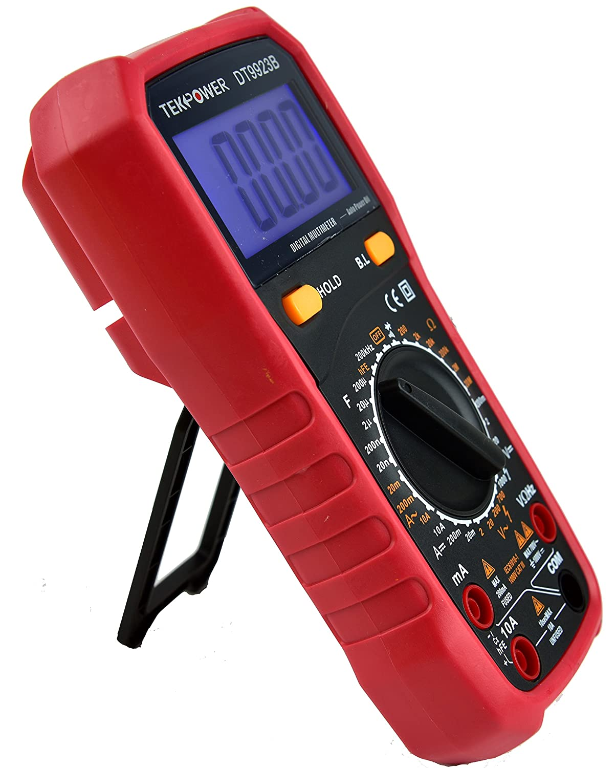 Tekpower TP9923B 4 1 2 Digits High Accuracy Multimeter with Display 19999 and Back Light Digital Multimeter , Alike INNOVA MS8268
