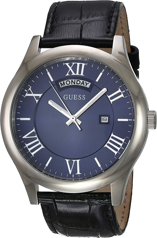 Guess Reloj analogico para Hombre de Cuarzo con Correa en Tela W0792G1