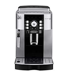 De'Longhi ECAM22110S Magnifica XS Fully Automatic Espresso Machine with Manual Cappuccino System, Silver