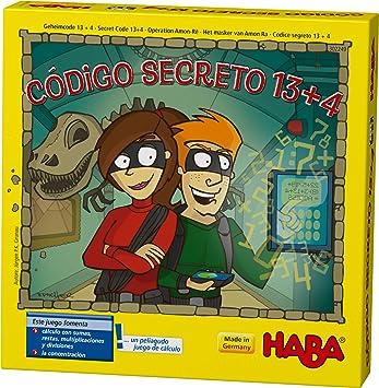 Comprar juego de mesa: HABA- Código Secreto 13 + 4 Juego de Mesa, Multicolor (302249)