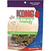 KONG - Farmyard Friends™ - All Natural Dog Treats - BBQ Chicken (Best used with KONG Classic Rubber Toys)