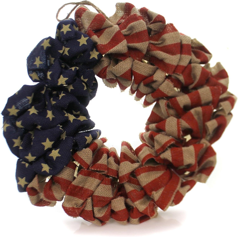 Burton and Burton 9729788 Flag Wreath, Multicolor