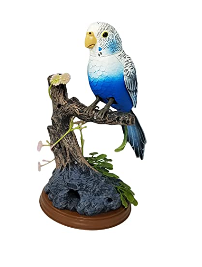 amazon com haktoys realistic sound activated singing chirping