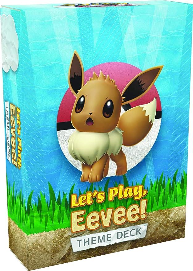 Themendecks Let/'s Play Pokemon Sammelkartenspiel Pikachu /& Evoli