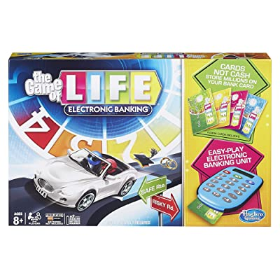 Hasbro Gaming The Game of Life Electronic Banking: Hasbro: Toys & Games