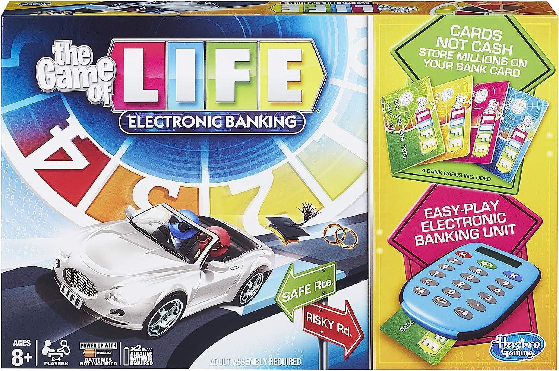 Hasbro El Juego de la Vida con Banco electrónico: Amazon.es ...