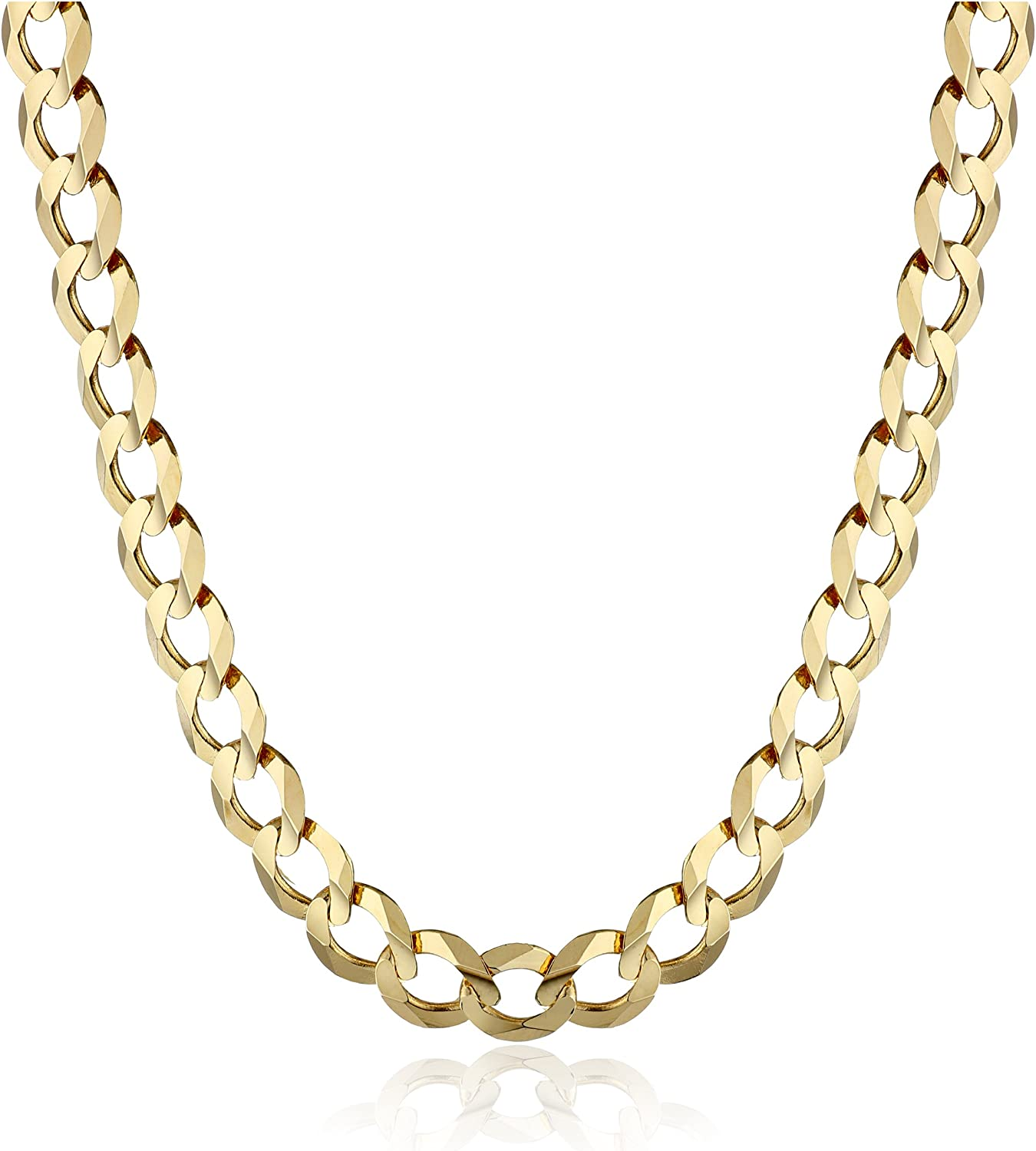 Men's 14k Gold 5.7mm Cuban Chain Necklace