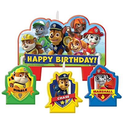Paw Patrol Birthday Candle Set: Toys & Games [5Bkhe0911645]