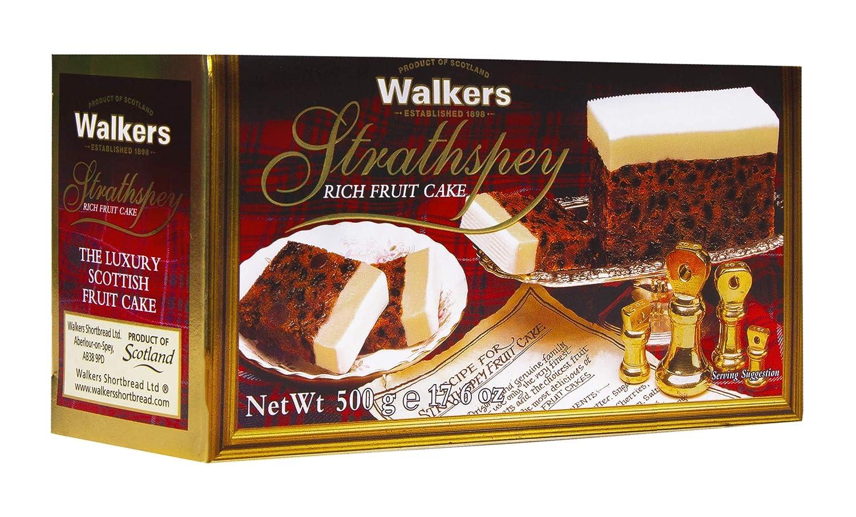 Walkers Shortbread Strathspey Rich Fruit Cake, 17.6 Ounce Box