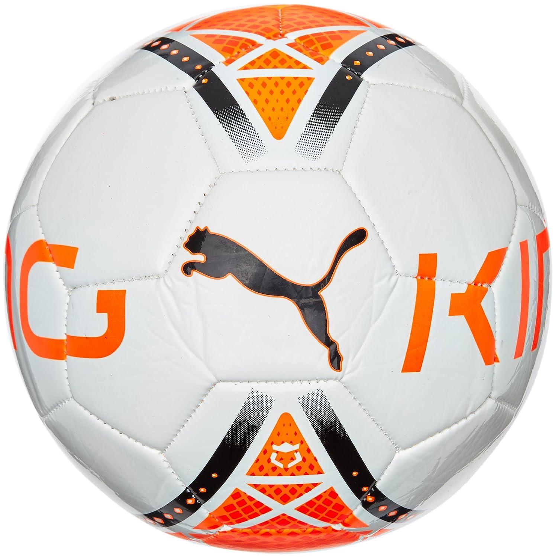 Puma Ball King Graphic - Balón de fútbol de Ocio, Color Blanco ...