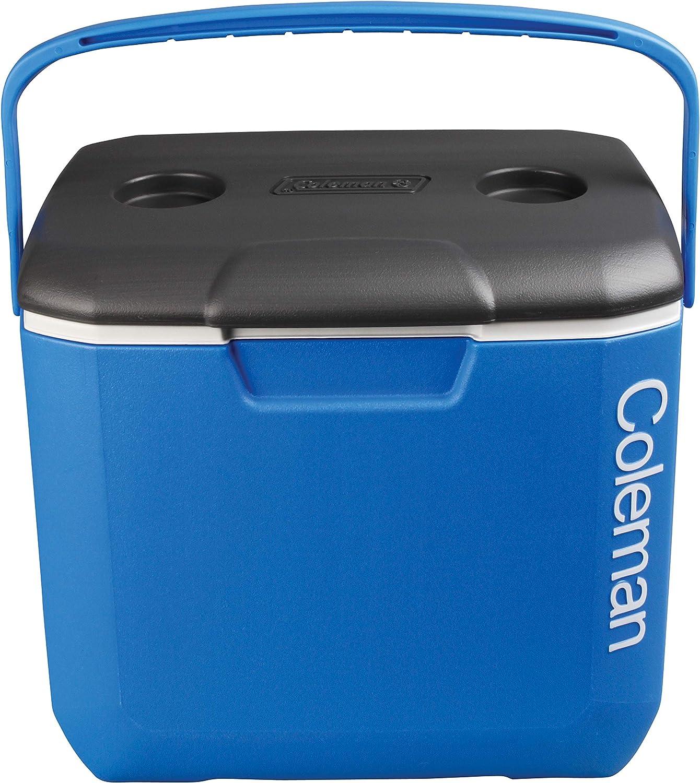 Coleman Cool Box - Enfriador de Rendimiento de 30 litros, Capacidad de 28 litros, Gran Capacidad de Alto Rendimiento, Caja de Hielo para Bebidas