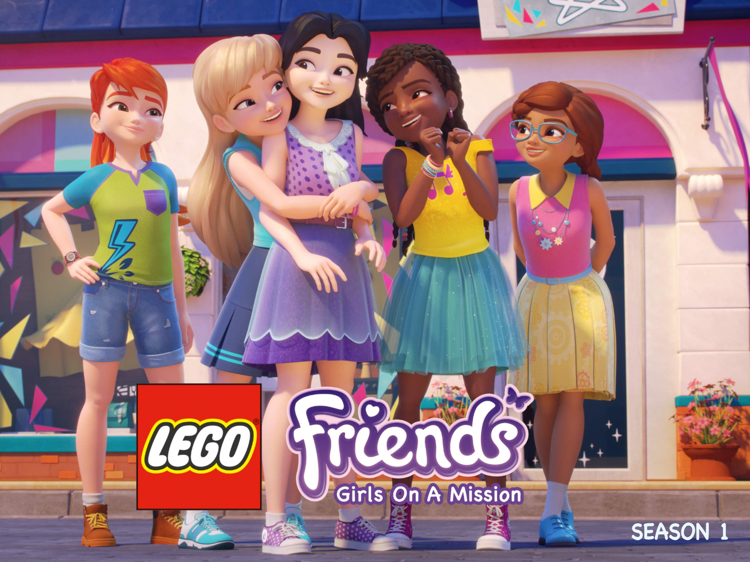 Amazoncom Watch Lego Friends Girls On A Mission Season 1 Prime