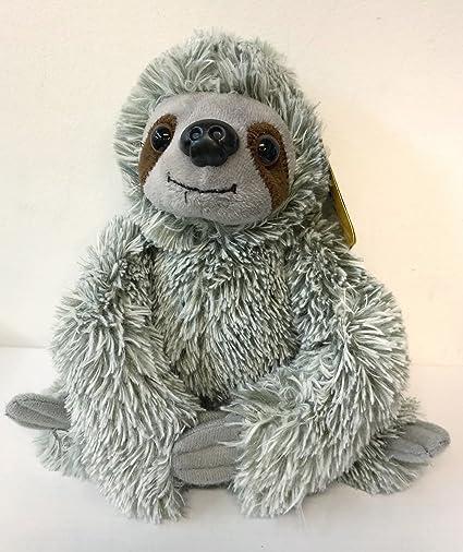 Amazon Com Mini Plush Sloth Stuffed Animal 7 Assorted Colors Toys