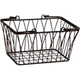 Spectrum Diversified Twist Storage Basket, Small, Bronze