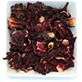 Tealyra - Hibiscus Loose Leaf Herbal Tea - Help Weight Loss & Lower Blood Pressure - Organic Pure Loose Leaf Tea - Caffeine Free (7oz / 200g)