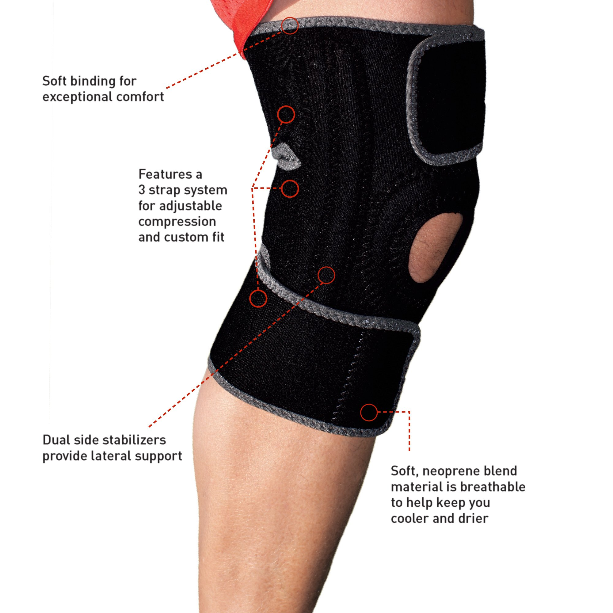 Ace Brand Knee Brace America S Most Trusted Brand Of