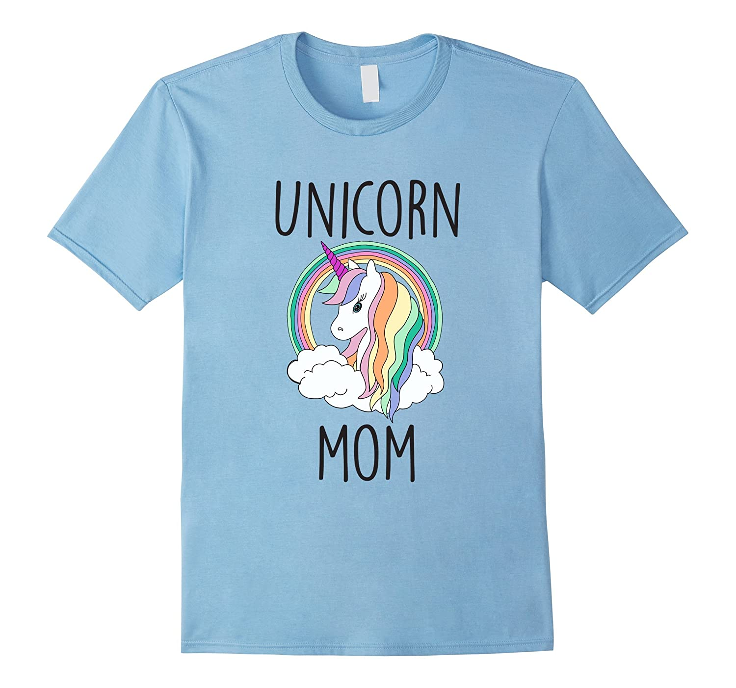 Unicorn Mom Cute Funny Unicorn Shirt-ANZ