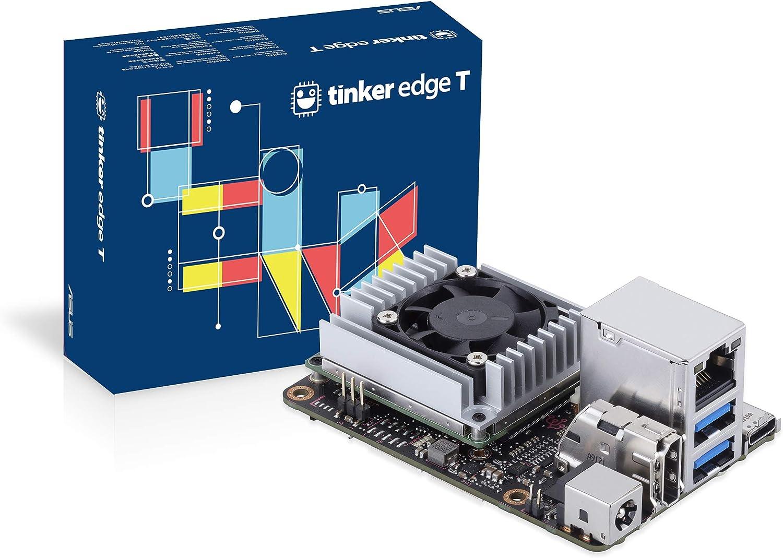 ASUS Tinker Edge T SoC 1.5GHz Quad Core CPU, GC7000 Lite Graphics, 1GB LPDDR4 & 8GB eMMC Mini Motherboard
