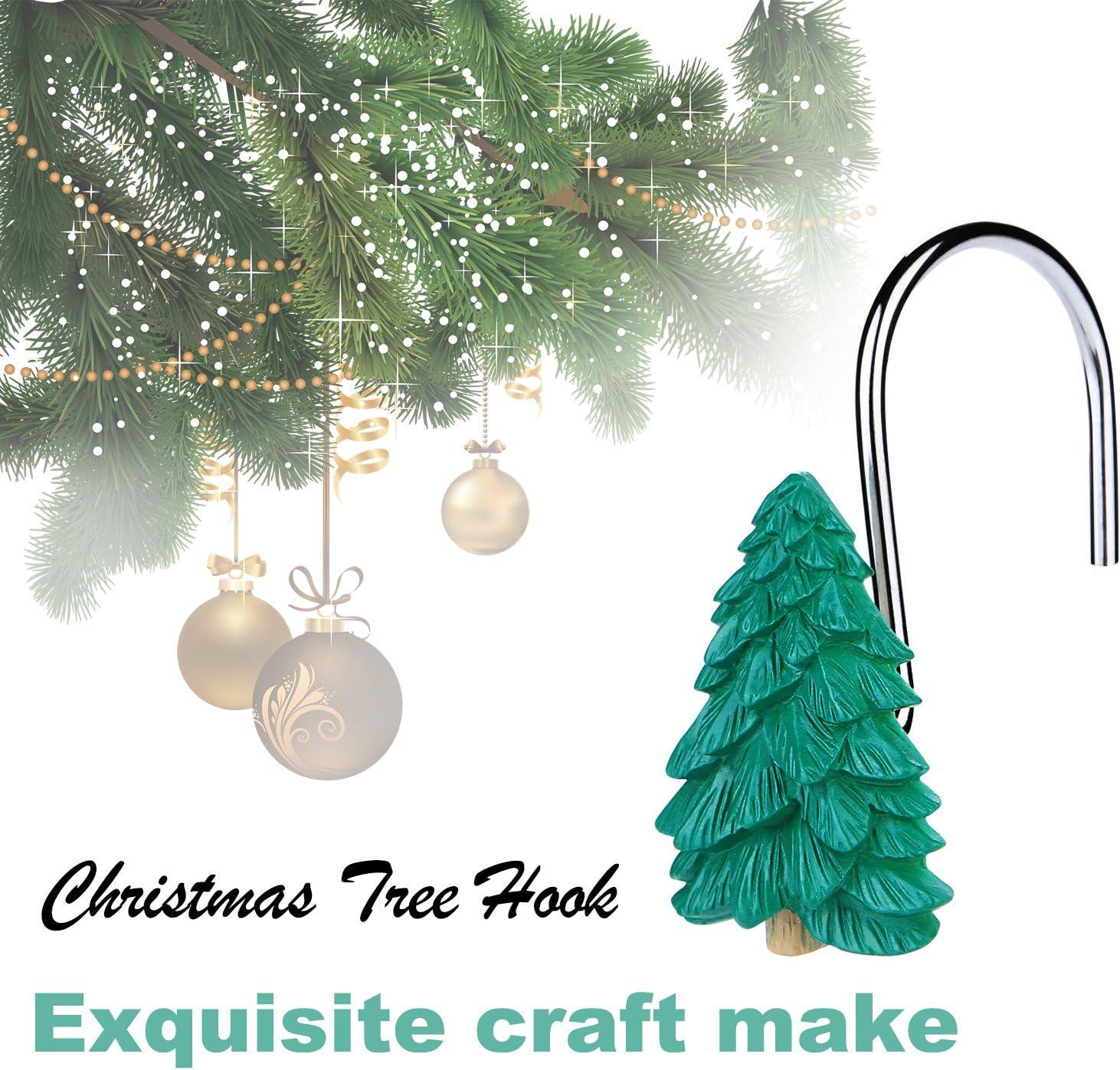 christmas curtain hooks