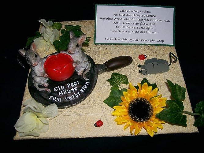 Geldgeschenk Z B Geburtstag Ein Paar Mause Zum Verbraten