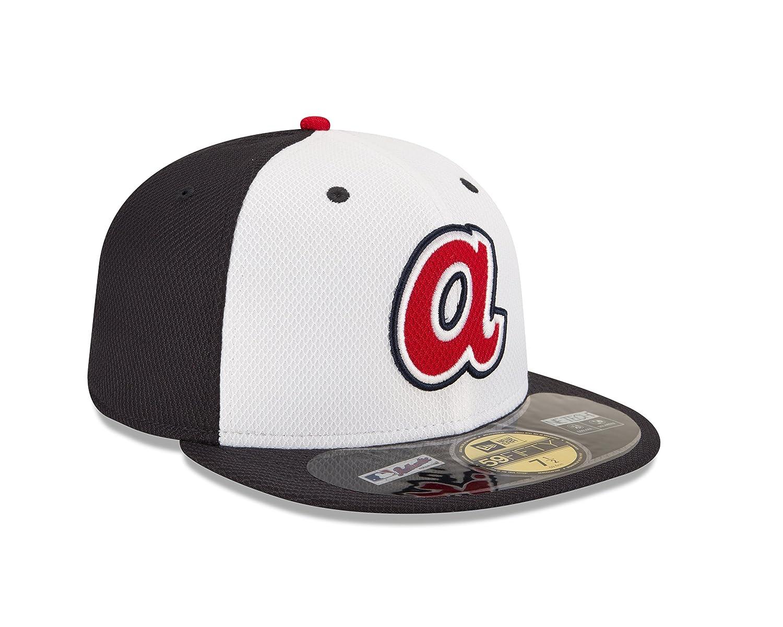promo code 1af30 30149 Amazon.com   MLB Atlanta Braves Diamond Era 59Fifty Baseball Cap   Clothing