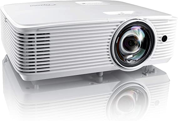 Optoma EH412ST Short Throw 1080P HDR Professional Projector | Super Bright 4000 Lumens | Business Presentations