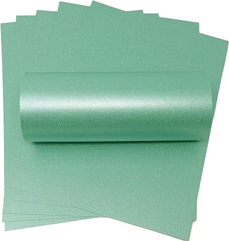 Carte format A4/couleur argent mercure iris/é brillant de qualit/é 300/g//m/² pour travaux manuels et fabrication de cartes