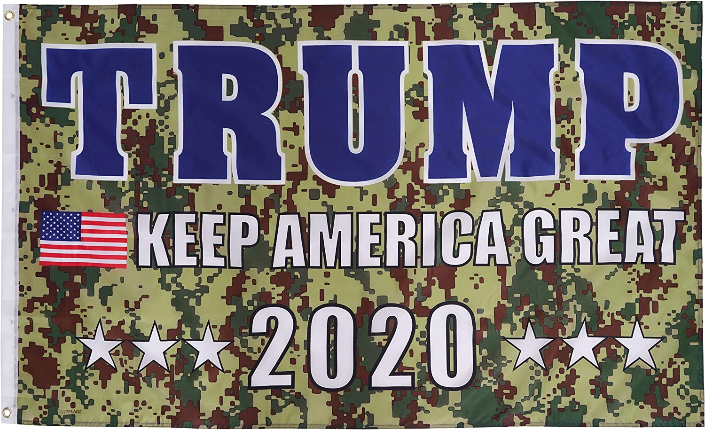 Winner Trump 2020 13 oz Banner Heavy-Duty Vinyl Single-Sided with Metal Grommets
