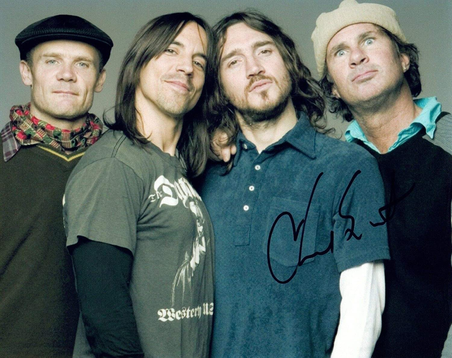 Chad Smith Signed Autographed 8x10 Photo THE RED HOT CHILI PEPPERS Drummer COA at Amazon's Entertainment Collectibles Store