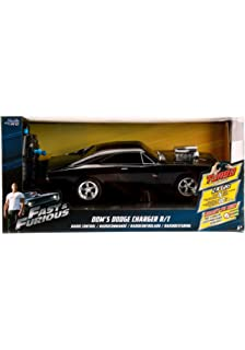 Jada Toys Fast & Furious RC 1970 Dodge Charger RT Vehicle (1/16 Scale