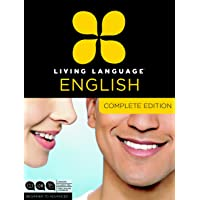 Living Language English, Complete Edition (ESL/ELL): Beginner through advanced course, including 3 coursebooks, 9 audio CDs, and free online learning