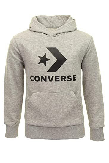 Converse Boys 'Chunk Patch' Over Head Hoodie