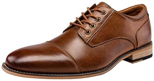 Amazon.com: JOUSEN Zapatos de vestir formales de piel Oxford ...