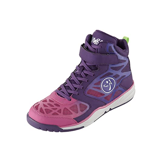 Zumba Footwear Zumba Court Flow, Damen Hallenschuhe, Violett (Purple), 36.5 EU